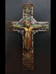 Enamelled plate from a processional cross, Limoges, early 13th century | Flickr - Photo Sharing!