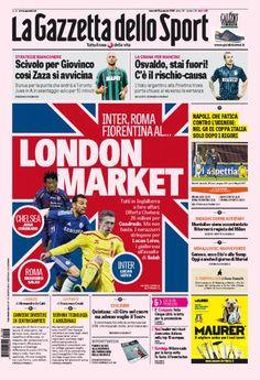 Prime pagine 23 gennaio 2015: Gazzetta, Corsport, Tuttosport - http://www.maidirecalcio.com/2015/01/23/prime-pagine-23-gennaio-2015-gazzetta-corsport-tuttosport.html