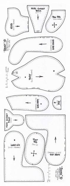 Sewing Patterns For Baby Clothes memory bear pattern clothes teddy bear sewing Source: website chefs uniform doll clothes pattern Sour. Teddy Bear Patterns Free, Teddy Bear Sewing Pattern, Doll Patterns Free, Free Pattern, Sewing Toys, Sewing Crafts, Sewing Projects, Free Sewing, Diy Crafts