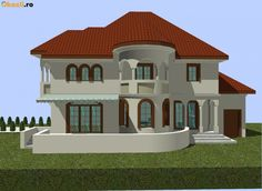 Village House Design, Village Houses, Itu, Design Case, Home Fashion, Romania, House Plans, Mansions, House Styles