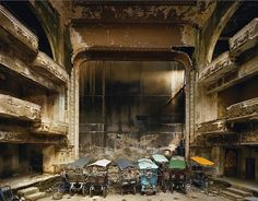 Andrew Moore Photographs of Abandoned Interiors