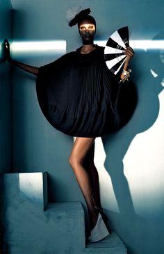 Yasmin Warsame by Steven Meisel | Trendnista   http://www.trendnista.com/fashion-women/yasmin-warsame-by-steven-meisel/