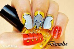 Nail, nail, nail / Nail Wish: Disney Challenge Day 4: Dumbo