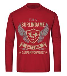 BURLINGAME - Superpower Name Shirts curling t shirt,usa curling shirt,curling sport t shirt,curling shirt,