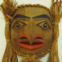 Haida Hawk mask by Tyler Crosby