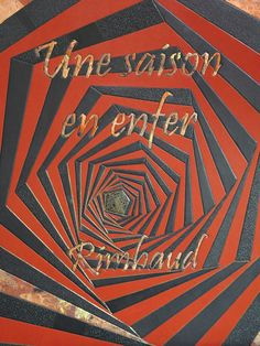 Une saison en enfer, Arthur Rimbaud