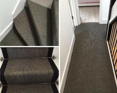 To supply & install grey striped carpet to stairs Grey Striped Carpet, North London, Grey Stripes, Stairs, Two Piece Skirt Set, Home, Gray Stripes, Stairway, Ad Home
