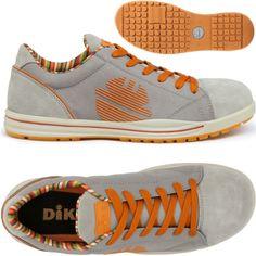 Zapato seguridad DIKE GLIDER GAME S1P Ceniza