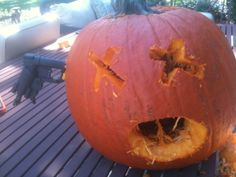My brothers awesome pumpkin