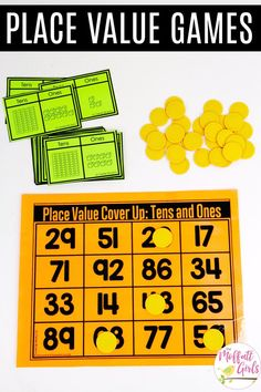 Eureka math Place Value Cover Up: This fun Grade Math activity helps students understand place values and the meaning of a number in a hands-on wa. Maths Guidés, Math Classroom, Fun Math, Teaching Math, Math Activities, Place Value Activities, Math Math, Math Resources, Second Grade Math