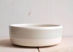 POKOJÍK / small ceramic bowl for clips or for business cards by Emamamisu School Office, Ceramic Bowls, Dog Bowls, Business Cards, Mood, Ceramics, Ceramica, Visit Cards, Carte De Visite