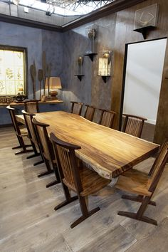 Wooden Rustic Furniture by SDA Decoration - so rustic and amazingly chic! | Captivatist