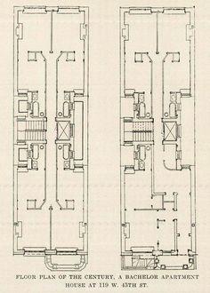 Tenement Floor Plans How The Other Half Lives Pinterest