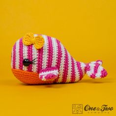 Willa the Whale Amigurumi Crochet Pattern by One and Two Company
