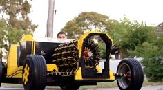 Full Sized #Lego Car Is Also Powered By Air #qtyctrl #cars