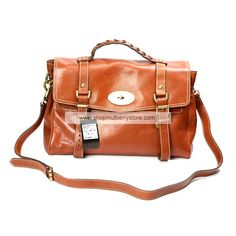 0eae656820 Mulberry Women s Standard Alexa Leather Satchel Bag Light Coffee Mulberry  Daria