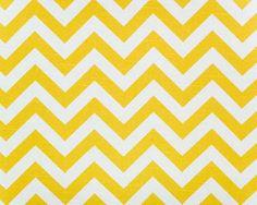 yellow chevron fabric to cover my ugly cupboard $9.99 per yard