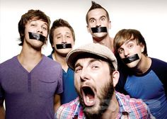 August Burns Red. My FAVORITE band! I look up to them a lot, Especially Jake and Matt. I look up to the both of them musically, mentally, lyrically, and most important of all Spiritually~~~~