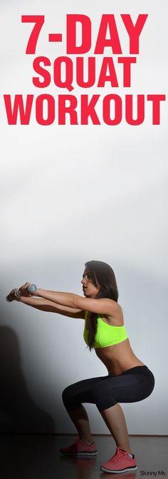 7-Day Squat Challenge: