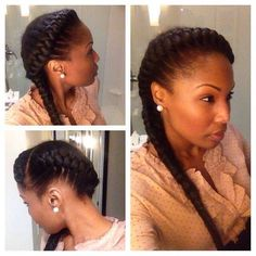 Fantastic 1000 Images About Hair Styles On Pinterest Relaxed Hair Hairstyle Inspiration Daily Dogsangcom