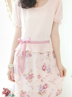 "petitepasserine: "" ah another lovely floral dress! ! ! ! """