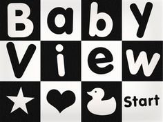 Baby White Noise and Visual Stimulation. Soothe and relax your baby