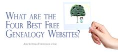 Are you looking for some free sources of genealogical information online that are quality sources? Try these four free genealogy websites...