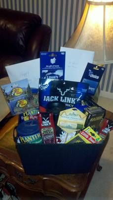 Awesome Homemade Gift Basket Ideas for Men