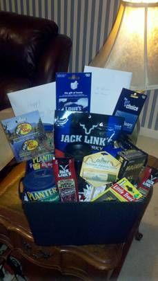 Man Gift Basket !!