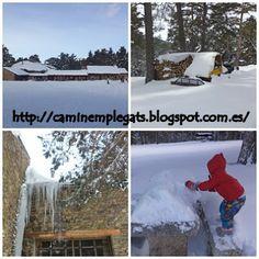 Caminem plegats: Per fi : A la neu !! experiència més que genial