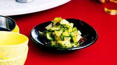 Spicy cucumber salad (sichuan liang ban huanggua) recipe : SBS Food