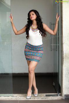 Stunning Glam Shots of Hamsa Nandini Short Skirts, Short Dresses, Mini Skirts, Hamsa Nandini, Short Frocks, Fashion Wear, Womens Fashion, Full Look, Women Legs