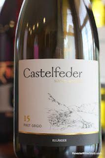 Castelfeder 15 Pinot Grigio 2011 - Wines From Alto Adige Wine #5. $14, http://www.reversewinesnob.com/2012/09/castelfeder-15-pinot-grigio-2011-alto-adige.html