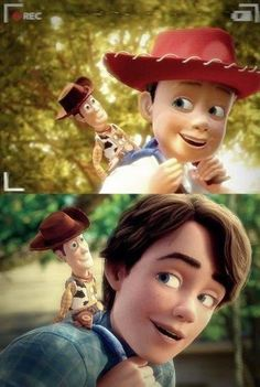30 Day Disney Challenge/Day 20: Favorite Sequel- Toy Story 3. Just looking at this photo made me tear up.