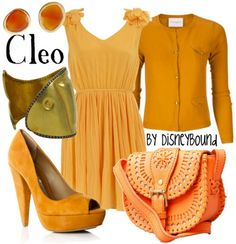 """disney """"pinocchio"""" movie inspired outfit: Cleo (the fish) - LOVE that purse!"""