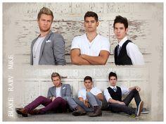 ignited Photography - Stylized Fashion - Stylist: Kait Wright - Model: Rajiv, Mike, Blake - Strobe Lighting - Northville, MI