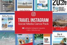 Instagram Square, Create Quotes, Pixel Size, Plan Your Trip, Vacation Destinations, Social Media, Ads, Marketing, How To Plan