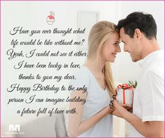 Wish your most favourite person in the whole world a big happy birthday with these 70 love birthday messages, and tell 'em that you're so happy on this day! Birthday Wishes For A Friend Messages, Birthday Wishes For Lover, Happy Birthday Love, Happy Birthday Quotes, July Birthday, Good Wishes Quotes, Happy Wife Quotes, Feeling Happy Quotes, Best Friend Quotes Meaningful