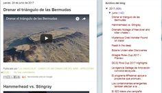 """29.6.17 Blog """"La Caracola"""" de Aprocean http://aprocean.blogspot.com.es/"""