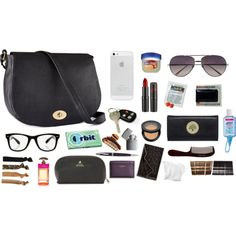 """""""Whats in my purse/ what to keep in your purse."""" by stylebydani on Polyvore"""