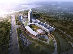 Fuwai Huazhong Cardiovascular and Heart Hospital by Smith Group JJR HITADRI (C) Beijing Hong Hu Tian Tu Architectural Design, LLC and SmithGroupJJR. New entry for WAN Healthcare Award 2014