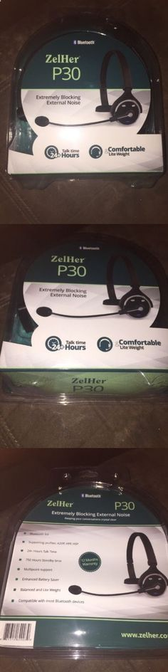 Other Consumer Electronic Lots: Zelher P30, Over The Head, Noise Canceling Bluetooth Headset -> BUY IT NOW ONLY: $49.99 on eBay!