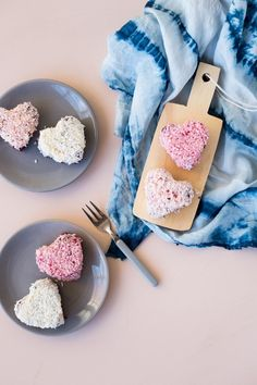 Make these Vegan Valentine's Treat, Red Velvet Snow-Heart Cakes this Valentine's Day. Show you really do care, even if they don't share your love of cheese!