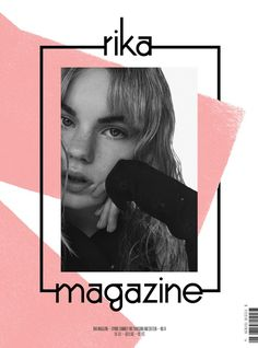 Estella Boersma pose for Rika Magazine Spring Summer 2016 Covers