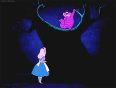 """""""Siempre se llega a alguna parte si se camina lo bastante"""" El gato de Cheshire de Alicia en el País de las Maravillas"""
