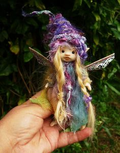 reserved listing sweet  5  inches  tiny by throughthemagicdoor.