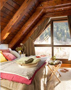 Уютна, провинциална спалня