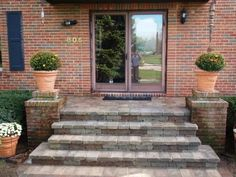 Front Porch Steps, Deck, Yard, Patio, Landscape, Outdoor Decor, Walls, Google Search, Home Decor