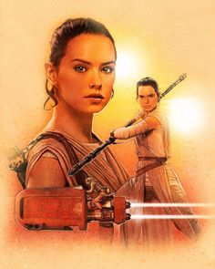 Star Wars: The Force Awakens - ReyCreated by Paul Shipper