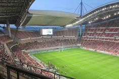Toyota Stadium in Toyota, Aichi Prefecture, not far from Nagoya, is one of Japan's premier sports stadiums with a capacity of seats. 2002 World Cup, Club World Cup, Rugby World Cup, Sports Stadium, Stadium Tour, Kyoto Japan, Tokyo Japan, Nagoya Grampus, Top League